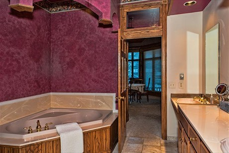 One of Eight Bathrooms